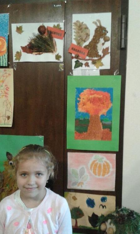 Nagroda w konkursie Jesienią malowane