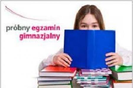 Egzamin próbny dla gimnazjalistów