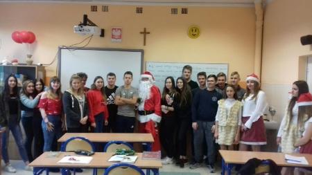 Mikołaj w szkole...