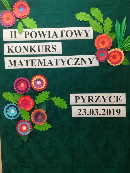II Powiatowy Konkurs Matematyczny
