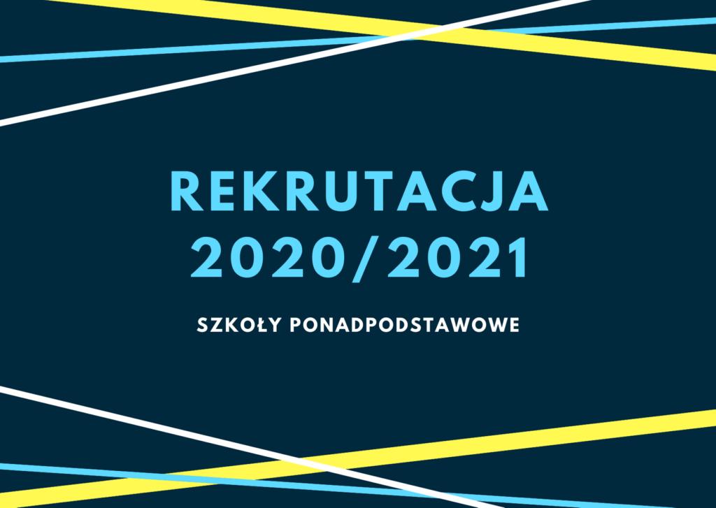 ZS Nr 1 Pyrzyce - oferta edukacja na rok 2020/2021