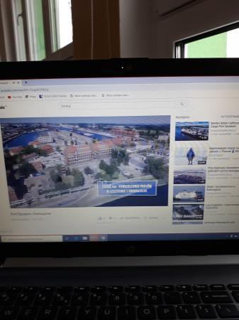 """Projekt """"Dni portu w szkole"""" – poznajemy Port Szczecin-Świnoujście"""