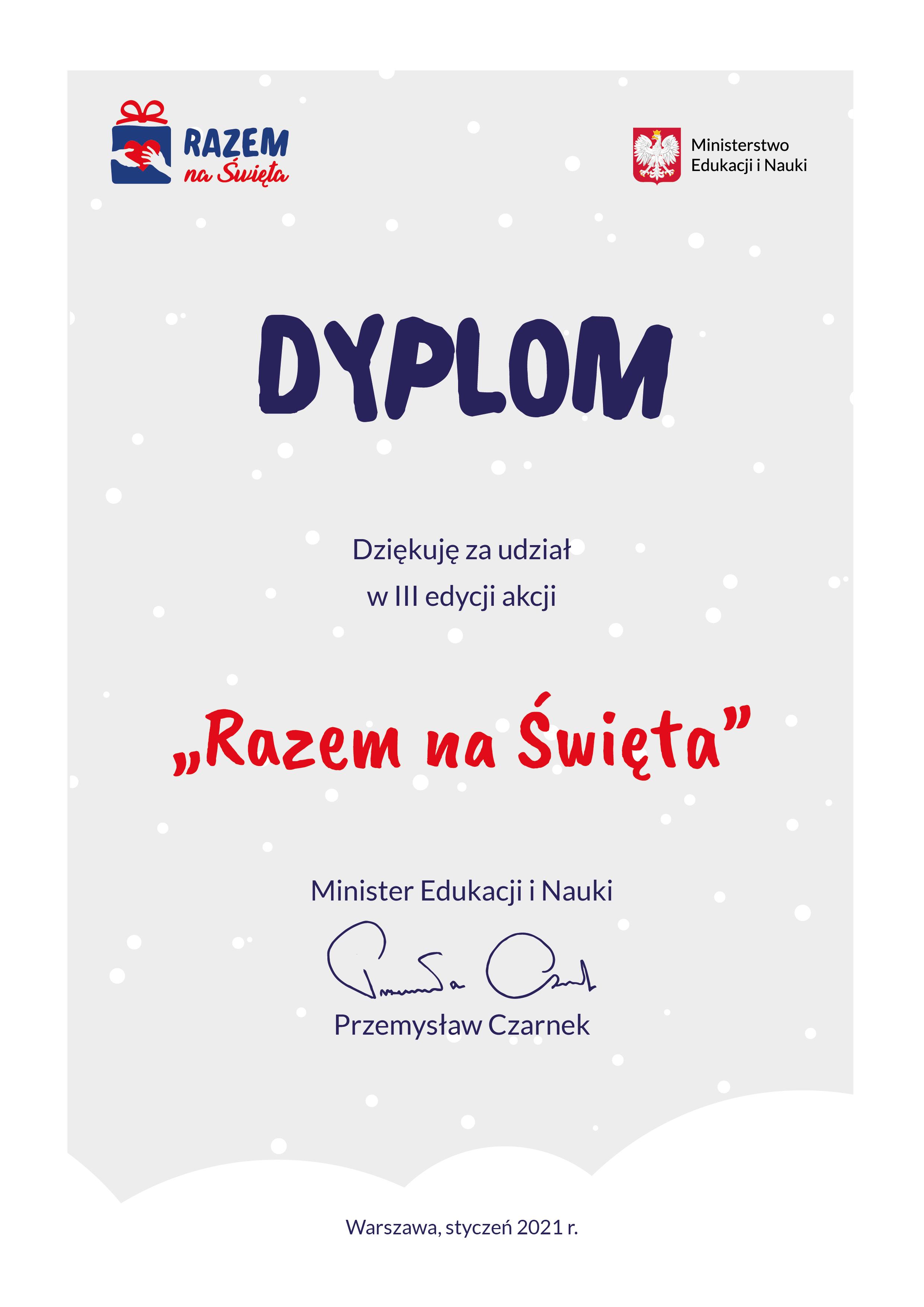 III edycja akcji  Razem na Święta